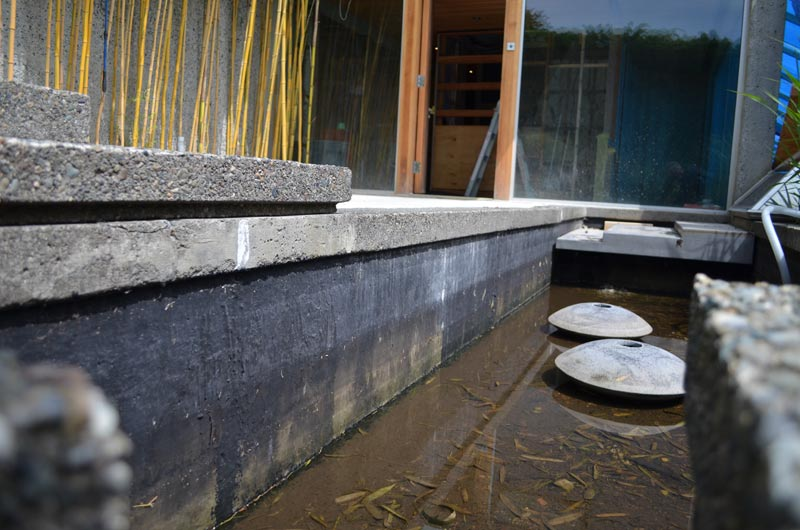 Waterproof Cement Tile For Pools : Eppich house roof and skylights « home building in vancouver